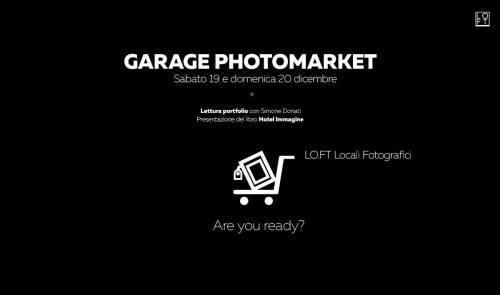 Servizio fotografico e garage market