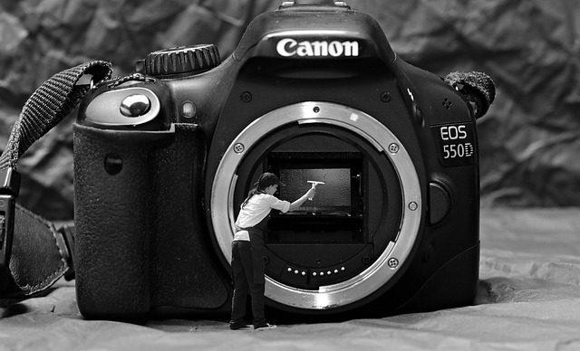 Come pulire fotocamera reflex