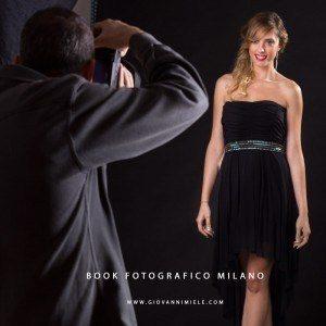 Fotografo professionale per Book Milano