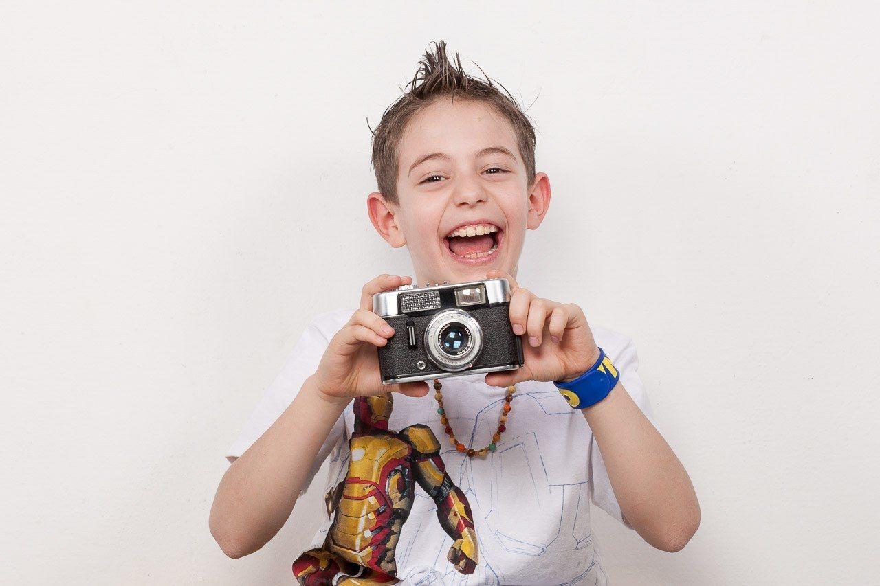 Servizio fotografico divertente per bambini