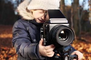 Book fotografico Bambini per provini Tv