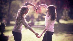 Book fotografico con amica del cuore