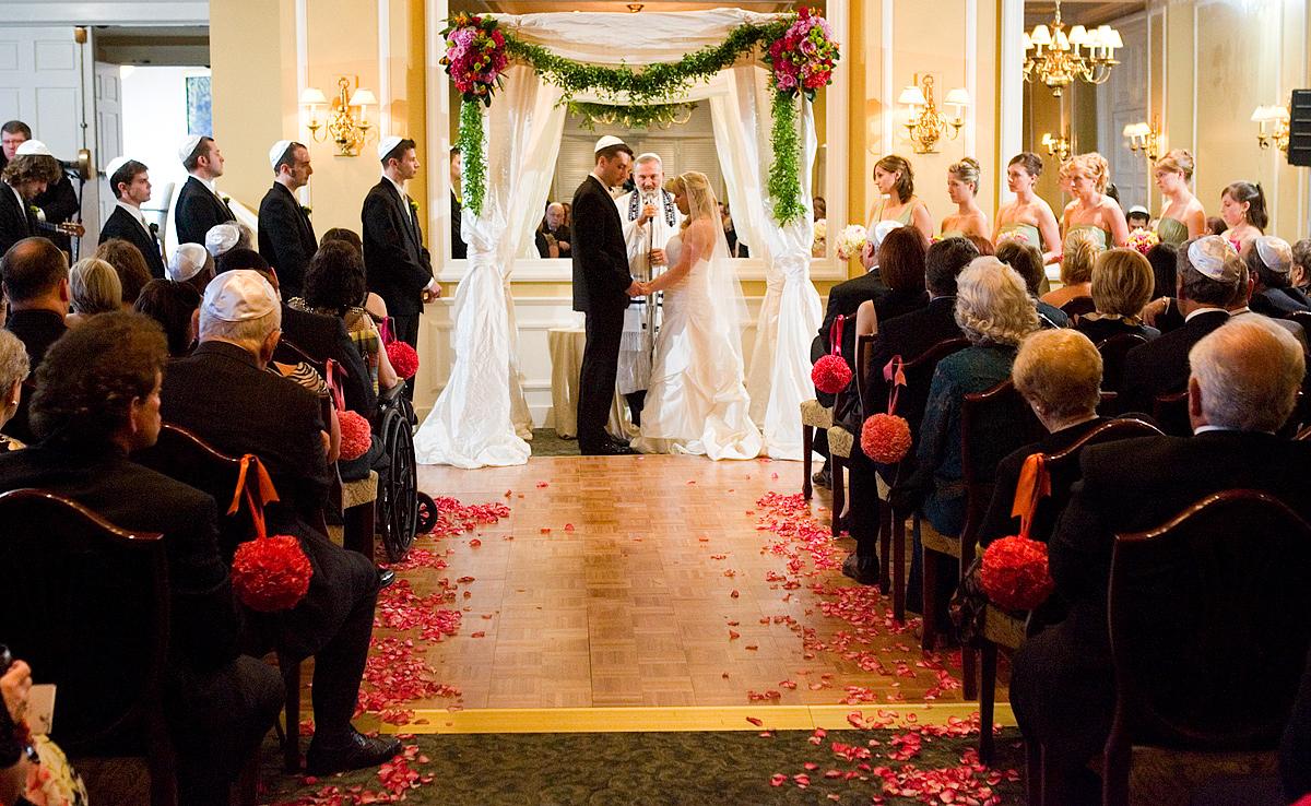 cerimonia matrimonio Ebbraico
