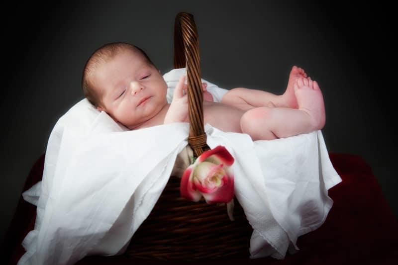 book fotografico neonato