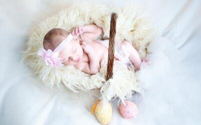 Come fotografare un neonato, stile New born